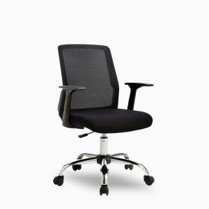 เก้าอี้สำนักงาน รุ่น Mano เก้าอี้ขนาดเล็กพนักพิงและโครงเหล็กหุ้มผ้าตาข่าย Mesh ระบายอากาศได้ดี ลดกลิ่นอับชื้น เคลื่อนย้ายสะดวก ใช้งานง่าย สินค้าพร้อมจัดส่ง